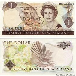 NOUVELLE-ZELANDE - PICK 169 c - 1 DOLLAR...