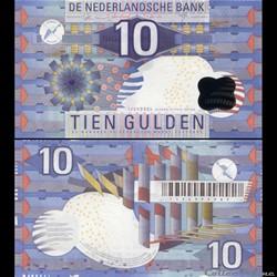 PAYS-BAS - PICK 99 - 10 GULDEN - 1997