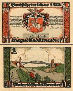 Albersdorf 1 Mark