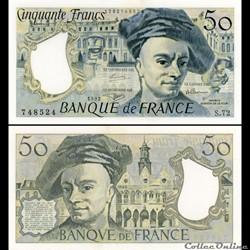 FRANCE - 50 FRANCS - 1992