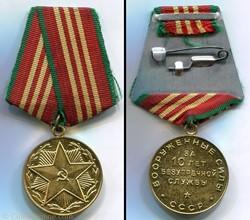 Médaille pour Service Impeccable  -10 an...