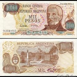 ARGENTINE - PICK 304 d 2 - 1000 PESOS - ...