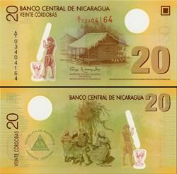 NICARAGUA - PICK 202 a  - 20 CORDOBAS - ...