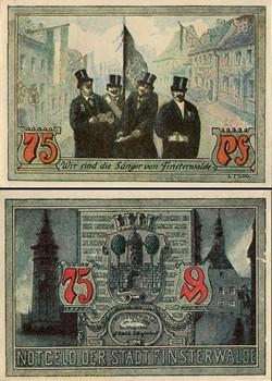 Finsterwalde 75 Pfennig