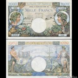 FRANCE - 1000 FRANCS