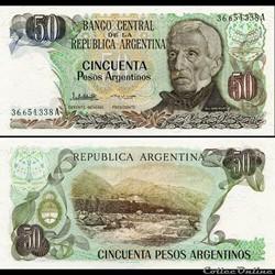 ARGENTINE - PICK 314 a 2 - 50 PESOS ARGE...
