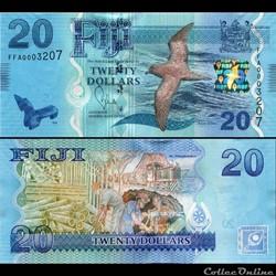FIDJI - PICK 117 - 20 DOLLARS - 2012