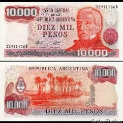ARGENTINE - PICK 306 a2 - 10 000 PESOS -...