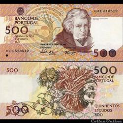 PORTUGAL - PICK 180 g 4 - 500 ESCUDOS - ...