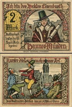 Hannoversch Münden 2 Mark