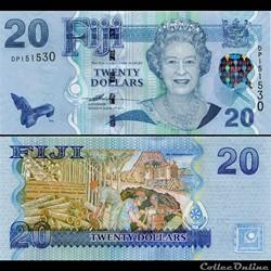 FIDJI - PICK 112 a - 20 DOLLARS - 2007