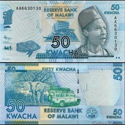 MALAWI - PICK 58 a - 50 KWACHA - 2012