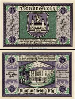 Greiz - 75 pfennig