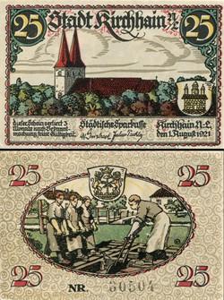 Kirchhain 25 Pfennig