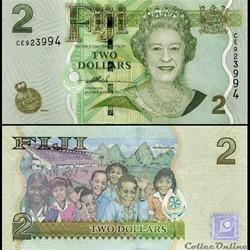 FIDJI - PICK 109 a - 2 DOLLARS - 2007