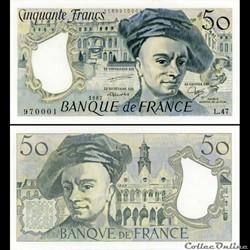 FRANCE - 50 FRANCS - 1987