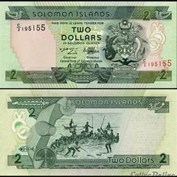 ILES SALOMON - PICK 18 a - 2 DOLLARS - 1...