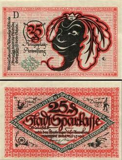 Bielefeld 25 Pfennig