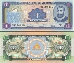 NICARAGUA - PICK 173 a1  - 1 CORDOBA - 1...