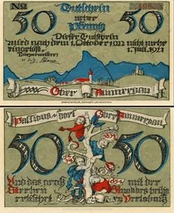 Oberammergau 50 Pfennig