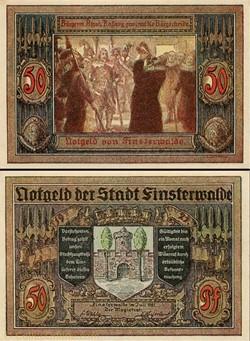 Finsterwalde 50 Pfennig