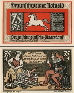 Braunschweig - 75 Pfennig