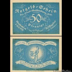 Waldenburg 50 Pfennig