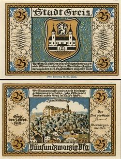 Greiz - 25 pfennig