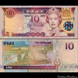 FIDJI - PICK 106 a - 10 DOLLARS - 2002
