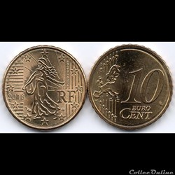 10 Cent : 2018 La Semeuse