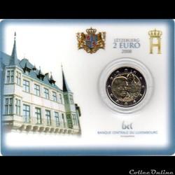 2008 : Coin card  Château de Colmar-Berg