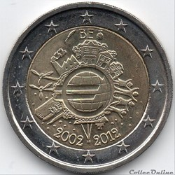 2012 :  10 ans de l'€uro
