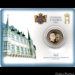 2004 : Coin card  Grand Duc