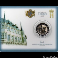 2019 : Coin card  100 ans de l'accession...