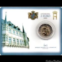 2005 : Coin card 5e anniversaire Grand D...