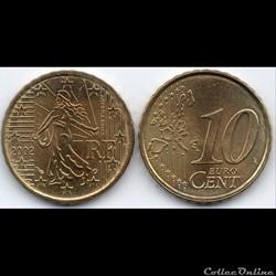 10 Cent : 2002 La Semeuse