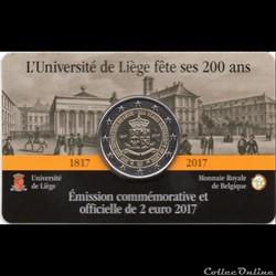 2017 : 200 ans de l'université de Liège