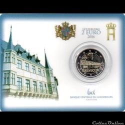 2016 : Coin card    50 eme anniver du pont grande duchesse Charlotte