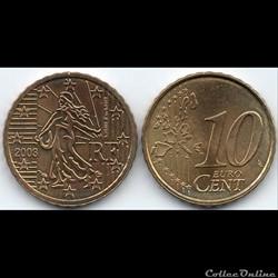 10 Cent : 2003 La Semeuse