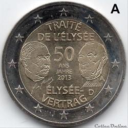 2013 : 50 ans Traité de l'Elysée