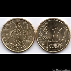 10 Cent : 2012 La Semeuse