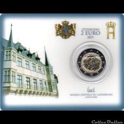 2011 : Coin card   90 ans de Jean de Lux...