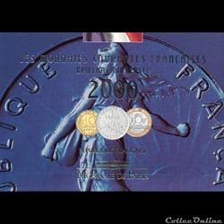 2000 : Monnaie courante Françaises