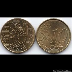 10 Cent : 2005 La Semeuse