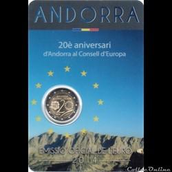 2014 : 20em anniversaire  d'Andorre au c...