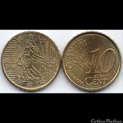 10 Cent : 2004 La Semeuse