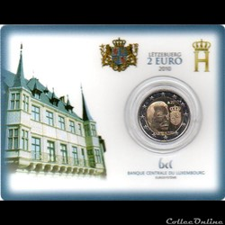 2010 : Coin card   Armoiries Grand-Ducale