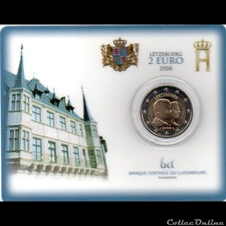 2006 : Coin card Grand-duc héritier Gui