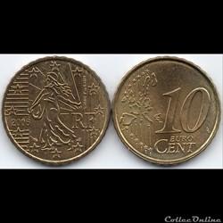 10 Cent : 2006 La Semeuse