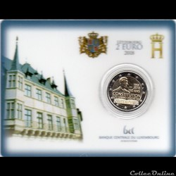 2018 : Coin card    150 ans de la constitution